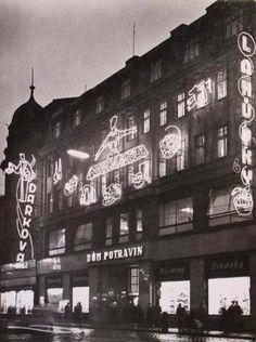 promeny ostravy Czech Republic, Prague, Neon, Architecture, Historia, Arquitetura, Neon Colors, Architecture Illustrations, Bohemia