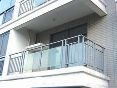 Aluminium alloy balcony guardrail