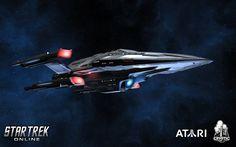 Prometheus class variant, Hephaestus class from Star Trek: Online