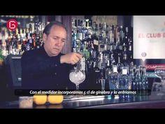 ...El Club del Gin Tonic, y nos enseñan cómo preparar Blue Winter