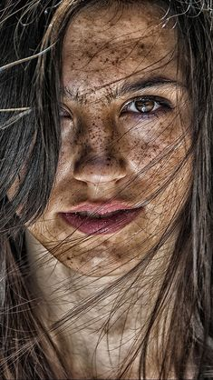 Element of Earth Photographer: Piotr Brzeski Beautiful Freckles, Gorgeous Redhead, Most Beautiful Faces, Beautiful Eyes, Women With Freckles, Red Freckles, Redheads Freckles, Cute Photography, Portrait Photography