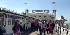 Brighton: uma praia bem inglesa Brighton, England, Street View, Littoral Zone, City, The Beach, London, English, British