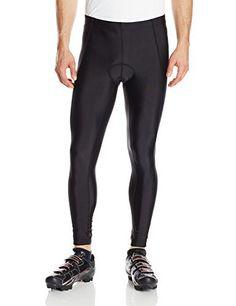 Canari Cyclewear Men's Veloce Pro Cycle Tights, Black, Large - http://ridingjerseys.com/canari-cyclewear-mens-veloce-pro-cycle-tights-black-large/