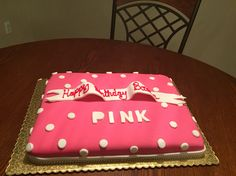 Victorias Secret Pink Inspired Cake