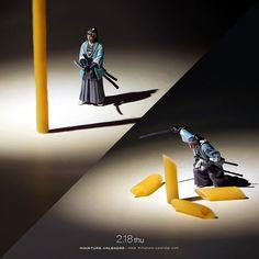 """. 2.18 thu """"Samurai sword"""" . こう見えて真剣に料理しているつもりですよ . #真剣だけど真面目ではない #居合 #真剣 #ペンネ . ーーーーーーー #写真集第2弾予約受付中 #プロフィールのURLから飛べます . by tanaka_tatsuya"""