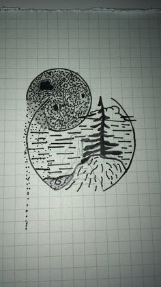 First try of round tattoo inspiration