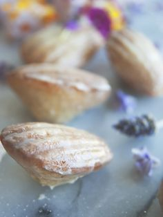 Lavender Earl Grey Madeleines {pretty little things}