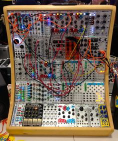this album will be full of sounds coming from Gravikord Munson's modular synthesizer. Off-kilter rythms that drift apart and meet back up at strange times. I think the voltage traveling through patches and circuits within a synthesizer is very similar to the electricity within the brain