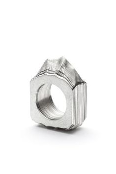Ring Monsieur by Justine B. Gagnon of Eccole de Joaillerie de Montreal.
