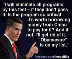 WHY would we want to keep borrowing 40 cents of every dollar from a Communist country?  Vote Romney!