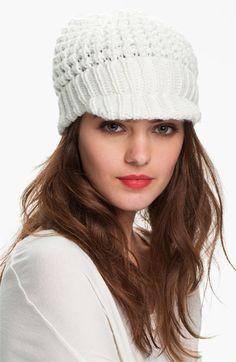 Cream, MICHAEL Michael Kors 'Peak' Hat   Nordstrom