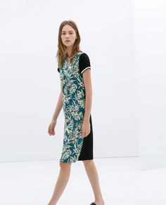 Image 3 of PRINTED DRESS from Zara $119