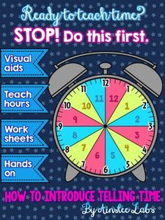 I find that many kids have the misconception that the hour is whatever the short hand is closest to. This works in the beginning when they're learning how to tell time to the nearest hour. As telling time increases in difficulty, they have to relearn how to find the hour.This kit helps by showing kids visuals that the hour actually has a space/area.