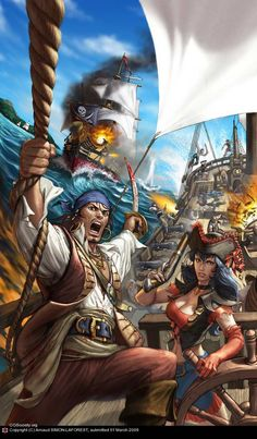 A Gallery Of Pirate Artwork