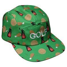 cc364446954c90 www.westsideskateshop.com - GolfWangChickenNWafflesCampHatKellyGreen Kelly  Green