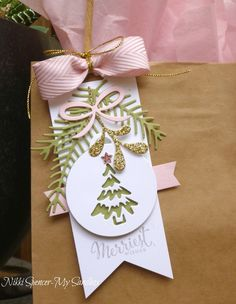With Christmas only days away, it's time to think about our packaging and this week over at Just Add  Ink  Jan has challenged...