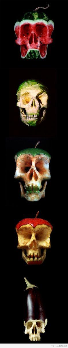 Fruit Skulls