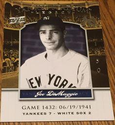 2008 Upper Deck Yankee Stadium Legacy #1432 Joe DiMaggio Yankees #NewYorkYankees