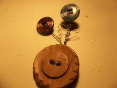 Flower Pot Brooch from Antique Buttons | HiddenHummingbirdDesigns - Jewelry on ArtFire
