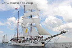"Tall Ship ""Loth Lorien"" at Hanse Sail Rostock"
