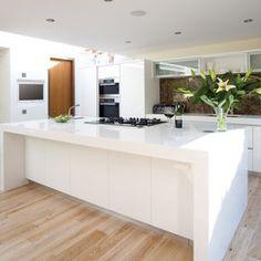 unstained white oak floors