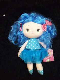 new Aurora Cutie Curls blue hair Olivia soft doll toys dolls for 1 year and up #Aurora
