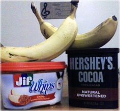 chocolate peanut butter banana ice cream WHAT THAT CAN'T BE HEALTHY [but it is]