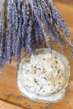 Homemade Relaxing Lavender Body Scrub | Cambria Wines