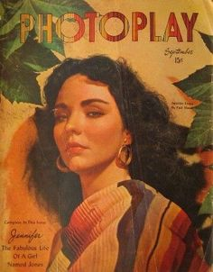 """Jennifer Jones - Sept 1947...as Pearl Chavez in """"Duel In The Sun""""...marvelous claptrap...love the Tristan and Isolde-ish ending...!"""