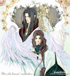 Feanor, Fingolfin và Finarfin