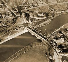 The widening of Trent Bridge, Nottingham, Nottingham Uk, Old Buildings, Old Photos, Places To See, Britain, Past, City Photo, Bridges, In This Moment