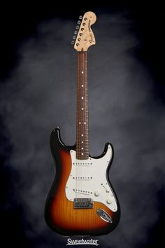Fender Custom Shop 2014 Proto Strat 3 Tone Sunburst, Rosewood | Sweetwater.com | Solidbody Electric Guitar with Ash Body, AAA Birdseye Maple Neck, Round-lam Rosewood Fretboard, 3 Single-coil Pickups, and Hard Case - 3 Tone Sunburst
