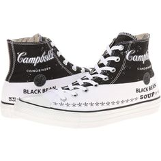 8664d87d96ef Converse Chuck Taylor All Star Andy Warhol Hi (Converse Black Converse...  ( 40) ❤ liked on Polyvore featuring shoes