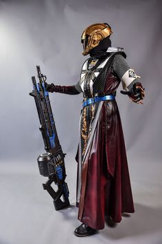Destiny Warlock with Thunderlord   TOTALLY FANGIRLING OVER THE HEART OF THE PRAXIC FIRE CLOAK!!!