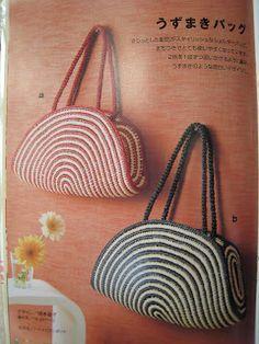 Tasche häkeln - crochet bag tote ... free pattern