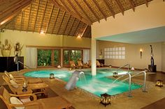 The amazing #spa at #ZoetryResorts in #PuntaCana. #luxury #travel #destination