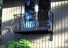 Wrought iron Balconies. Goose balcony wrought iron balcony from www.deciron.com they ship nationwide!