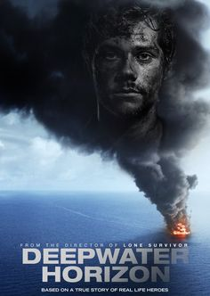 Deepwater Horizon dvd cover I re-did with Dylan O'Brien, not that he's recognisable