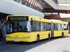 Solaris Urbino 18 der BVG in Berlin am Dvb Dresden, Anime Family, S Bahn, Busses, Public Transport, Coaches, Long Distance, Trains, Transportation
