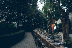 The LANE Real Wedding / A Gilded Garden Celebration