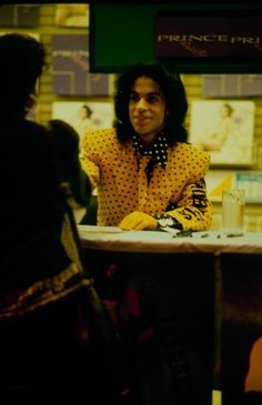 Prince | 1988 Lovesexy - Sam Goody Records 1988 In Person Appearance!