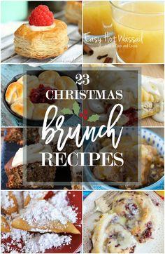 Christmas Brunch Menu, Christmas Food Gifts, Christmas Dishes, Christmas Breakfast, Christmas Cooking, Christmas Desserts, Christmas Meals, Christmas Punch, Xmas Food