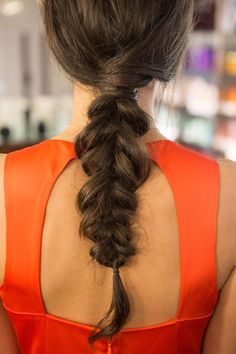 Pin for Later: Get the Inside-Out Plait Right Off the Mara Hoffman Runway The Finished Look