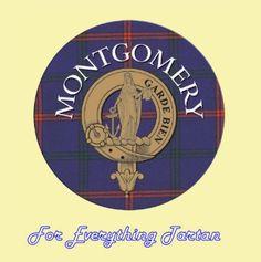 For Everything Genealogy - Clan Montgomery Clan Crest Tartan Cork Round Coasters Set of 2, $12.00 (http://foreverythinggenealogy.mybigcommerce.com/clan-montgomery-clan-crest-tartan-cork-round-coasters-set-of-2/)