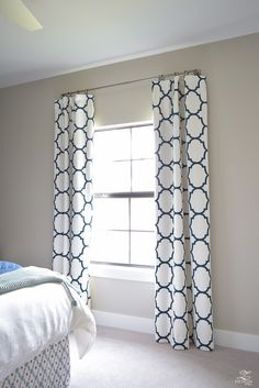 kravet riad linen custom curtains in navy how to know when to use what curtains-1