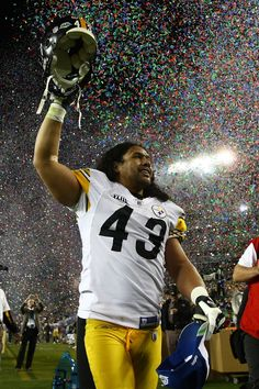 Steelers safety Troy Polamalu has spent his entire NFL career in Black & Gold. Check out these pics of #43 through the years!