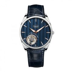 See the Parmigiani Fleurier Tonda 1950 Tourbillon abyss blue dial watch Case : White gold High End Watches, Watches For Men, Wrist Watches, Men's Watches, Fleurier, Watch Companies, Watch Case, High Jewelry, Luxury Watches