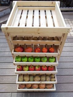 Ana White | Food Storage Shelf - DIY Projects