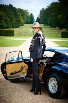 Captivating glamour: Ralph Lauren's elegant fashion event at England's Althorp estate