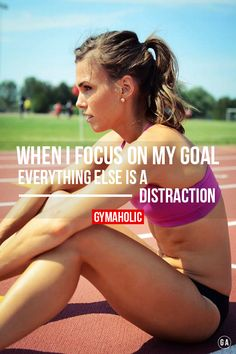 in-pursuit-of-fitness: When I focus on my goal. Everything else...